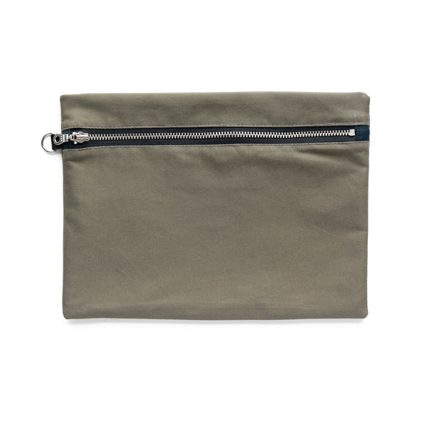 weatherproof cotton zip pouch thumbnail