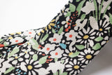 Japanese Silk Wicklow Floral Textiel Detail