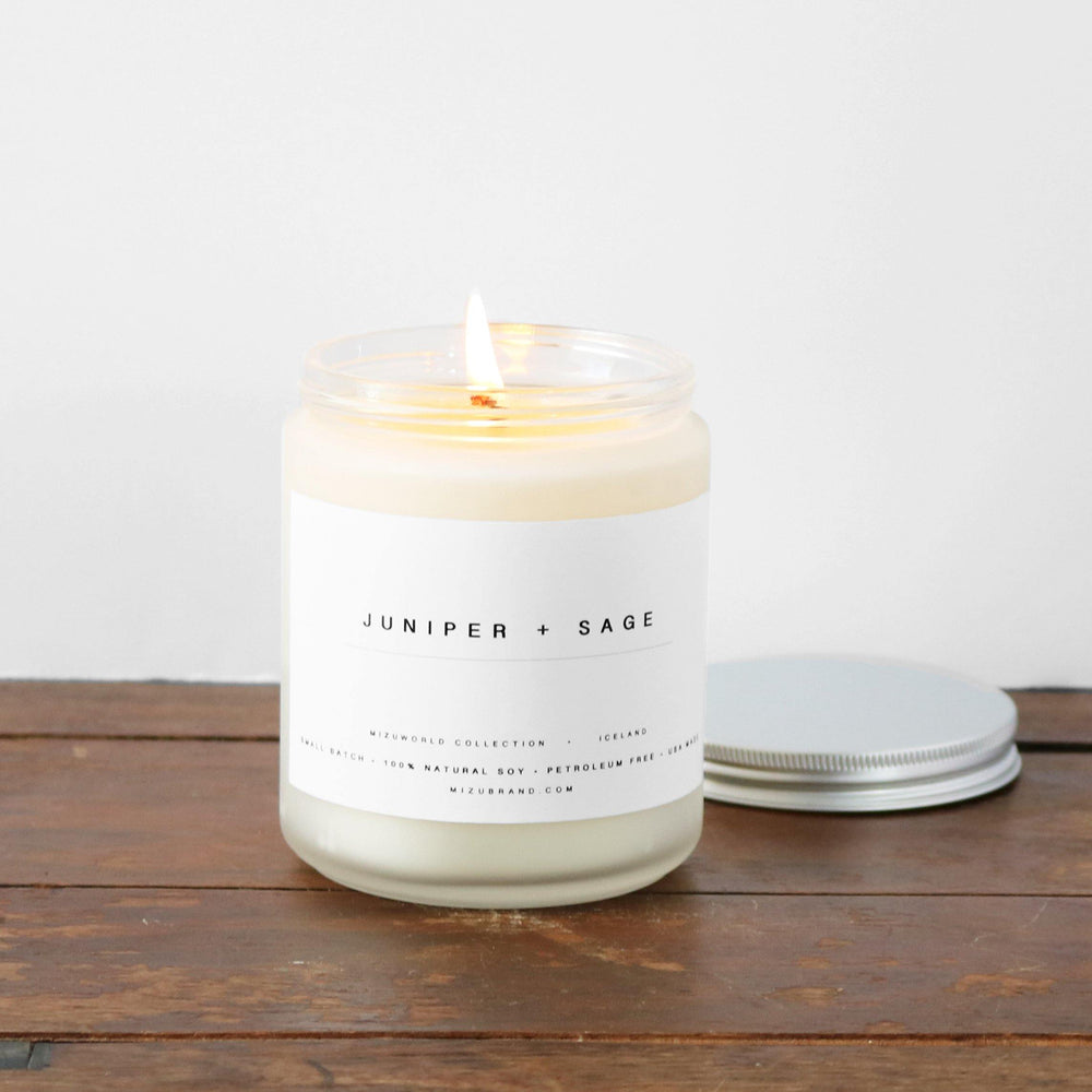 Juniper + Sage Natural Soy Candle / ICELAND