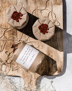 MIZU brand Wax Seal Candle Gift Wrapping