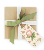 Present with Protea Gift Tag