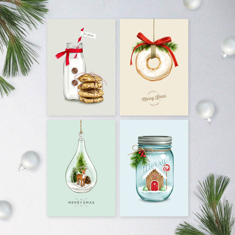 Christmas Collection 1 - Greeting Card Set