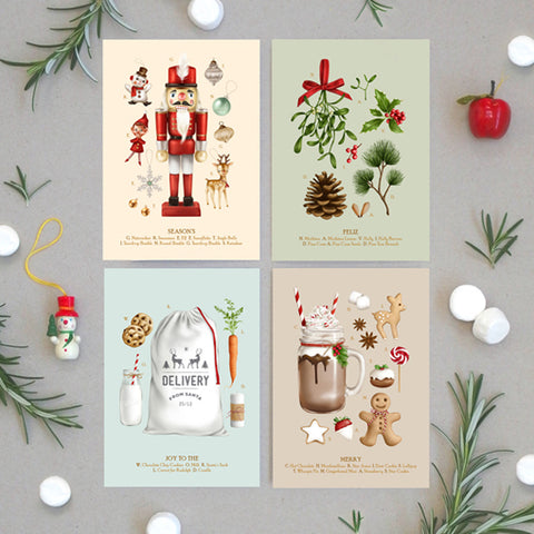 Christmas Collection 2 - Greeting Card Set