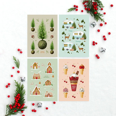 Christmas Collection 3 - Greeting Card Set