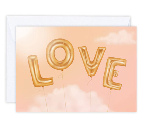 Love is in the Air - Greeting Card