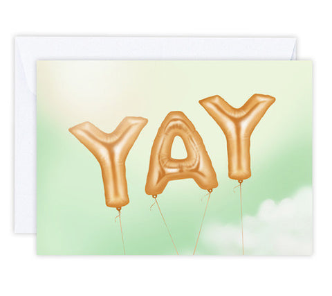 Yay - Greeting Card