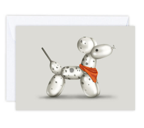 Domino the Dalmatian Greeting Card