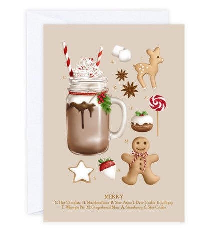Christmas Treats Greeting Card