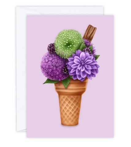 Berry Delightful Greeting Card