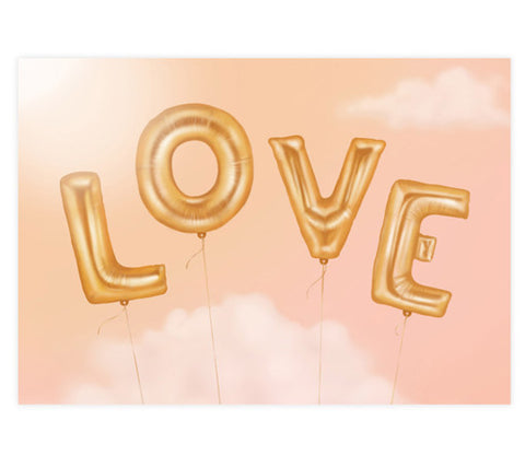 Love is in the Air – Art Print