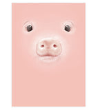 Peggy the Pig Art Print
