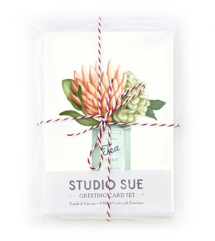 Botanical Greeting Card Set