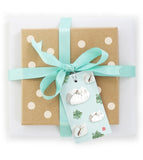 Present with Steamed Pork Buns Gift Tag