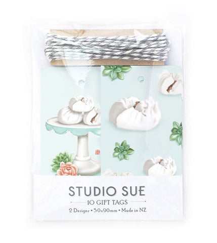 Steamed Pork Buns Gift Tag Set