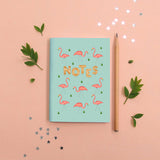 Garden Flamingoes Notebook