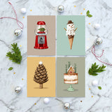 Christmas Collection 4 - Greeting Card Set