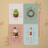 Handmade Christmas - Greeting Card Set