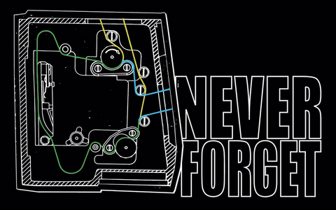 3. Never Forget Movement Sticker