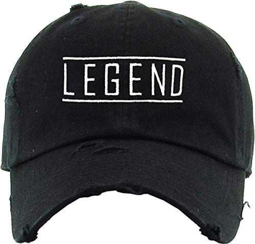 Legend Dad Hat (Black) - MIXT Apparel