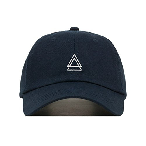 Double Triangle Dad Hat (Navy) - MIXT Apparel