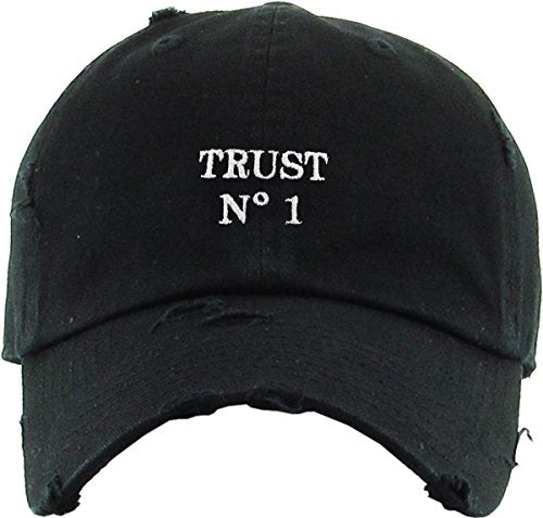 TRUST No1 VINTAGE DISTRESSED DAD HAT - MIXT Apparel