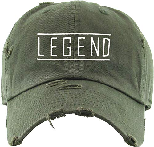 Legend Dad Hat (Olive) - MIXT Apparel