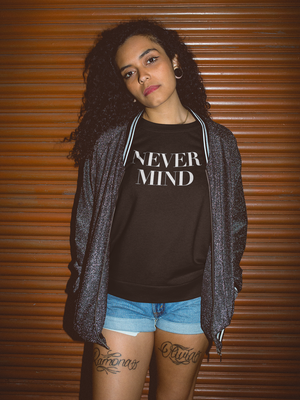 NEVERMIND TEE - MIXT Apparel