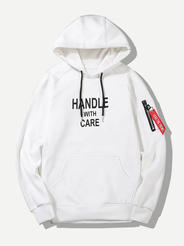 HANDLE WITH CARE WHT - MIXT Apparel