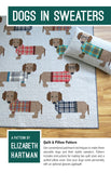 Dogs in Sweaters Quilt Pattern