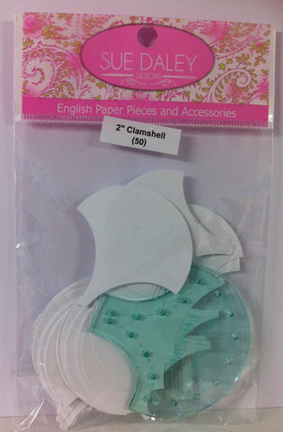 Clamshell Pack Acrylic Template with Papers