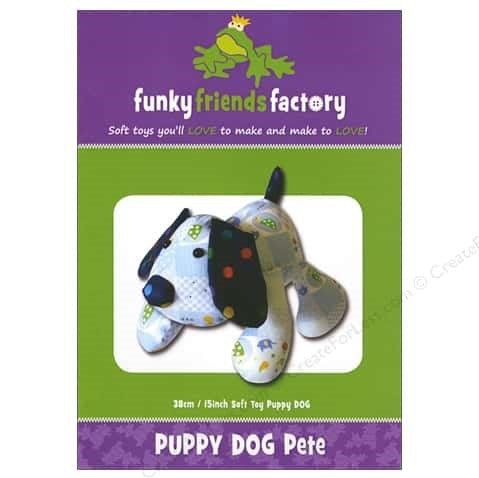 Patterns - Funky Friends Factory - Puppy Dog Pete