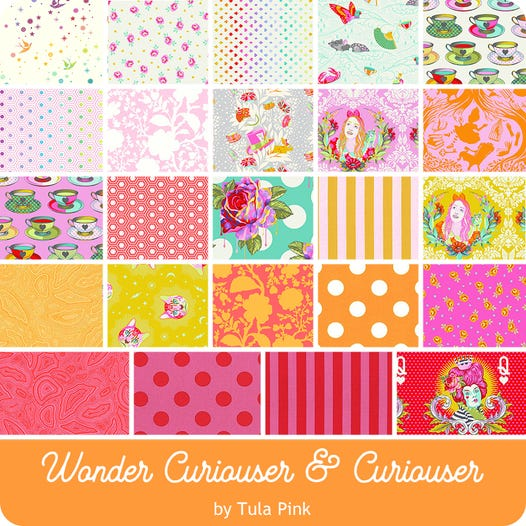 Curiouser Wonder Fat Quarter Pack - Preorder
