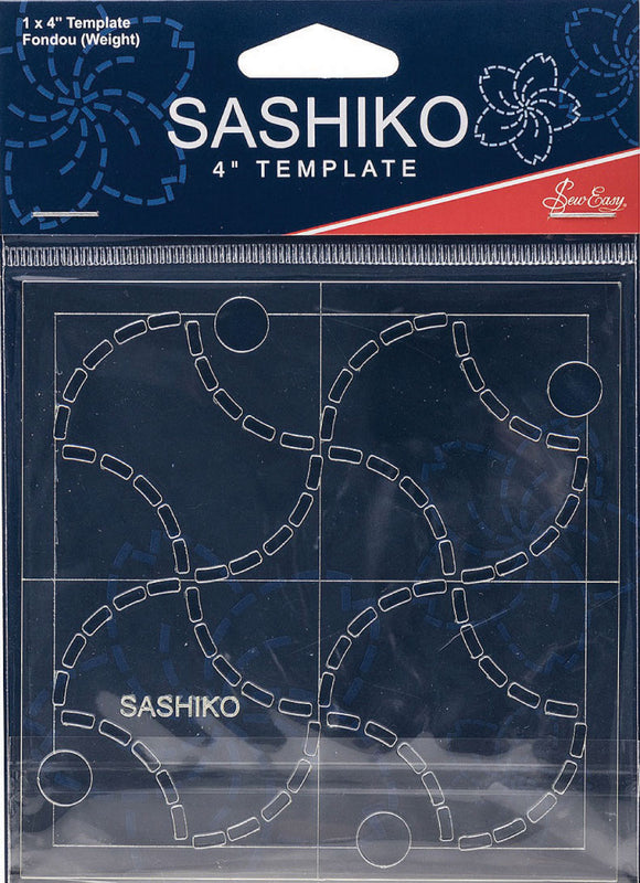 Sashiko Template 4' Weight