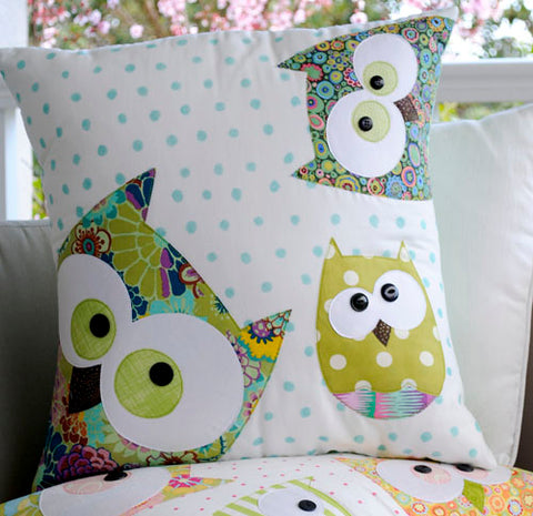 Family of Owls Applique Pattern