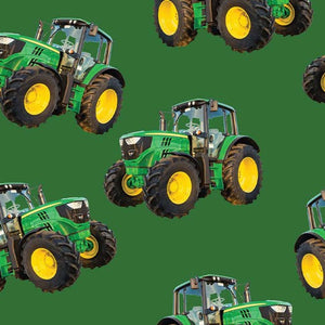 Farm Machines - Toss solid green