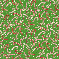 Candy Canes - Green