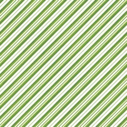 Candy Cane Stripe - Green
