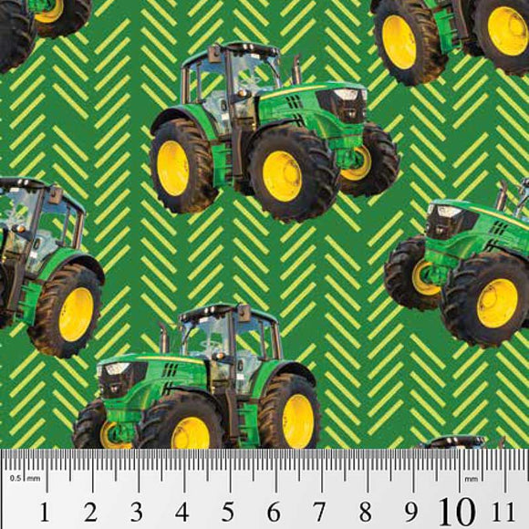 Farm Machines - Toss pattern green
