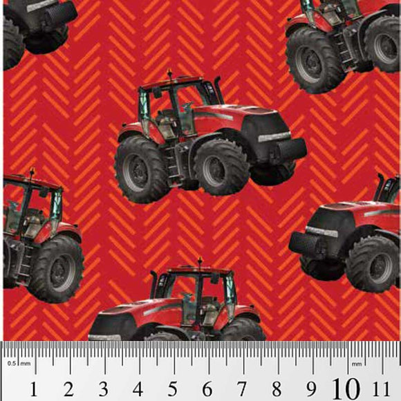 Farm Machines - Toss pattern red