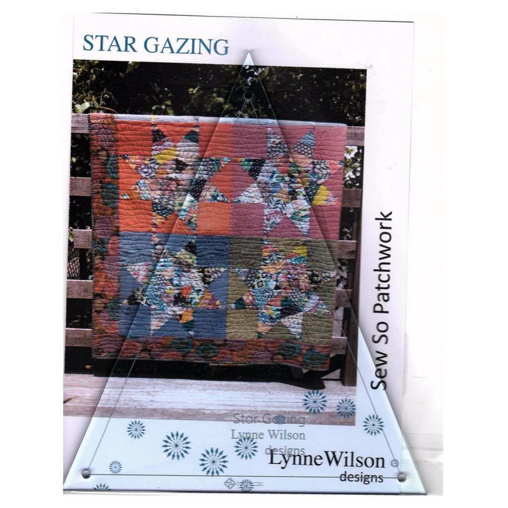 Template Fat Quarter - Star Gazing - LW020T