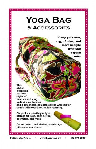 ByAnnie-PBA172 Yoga Bag & Accessories