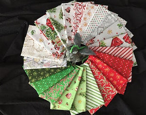All The Trimmings - Fat Quarter Bundle