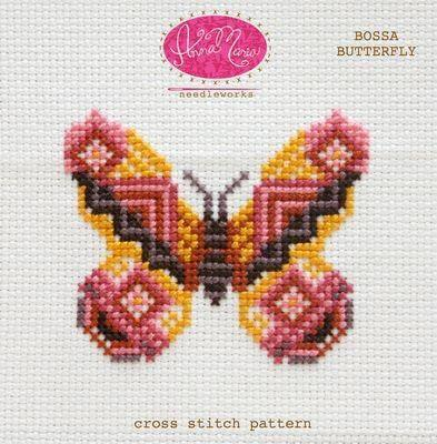 AMH Needleworks - Bossa Butterfly