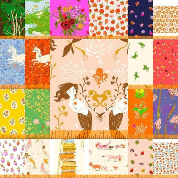 Heather Ross - Fat Quarter Bundle