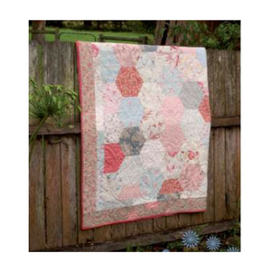 Fat Quarter Pattern - Hexagon Magic LWD11