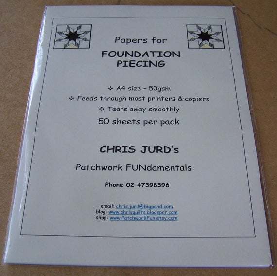 Foundation Papers for Piecing