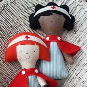 Patterns RR031 - Winnie & Pip (Nurse in Charge)