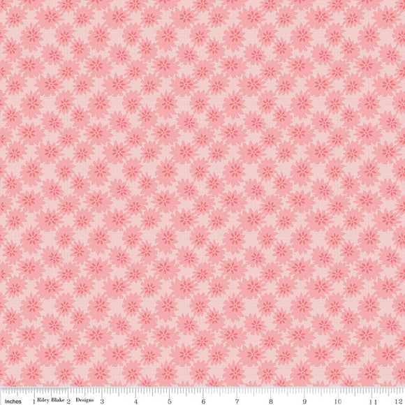 Linen - Lawn Daisy Pink LW6342-Pink