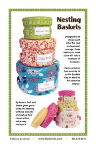ByAnnie-PBA240 Nesting Baskets