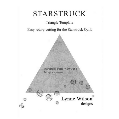 Template Fat Quarter - Starstruck LWD15T